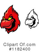 Royalty-Free (RF) cardinal Clipart Illustration #1182400