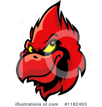 Cardinal Clipart #1182403 by Vector Tradition SM