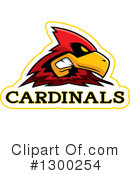 Cardinal Clipart #1300254 by Cory Thoman