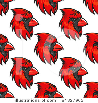Cardinal Clipart #1327905 by Vector Tradition SM