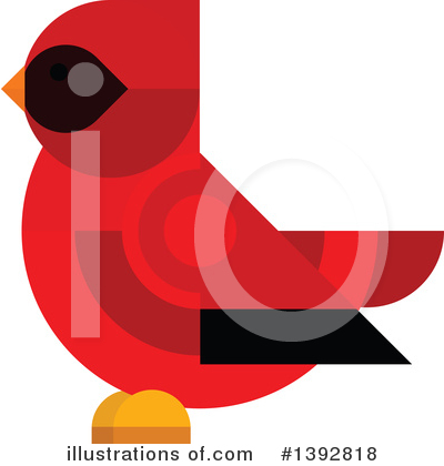 Cardinal Clipart #1392818 by Vector Tradition SM