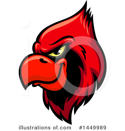 Cardinal Clipart #1449989 by Vector Tradition SM