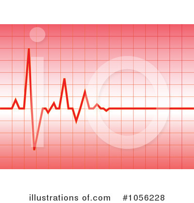 Heartbeat Clipart #1056228 by Andrei Marincas