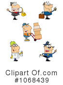 Career Clipart #1068439 by Hit Toon