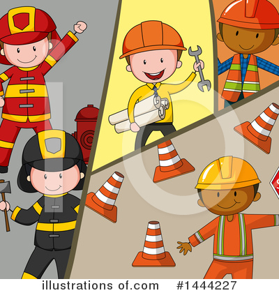 Engineer Clipart #1444227 by Graphics RF