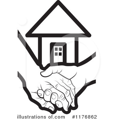 House Clipart #1176862 by Lal Perera