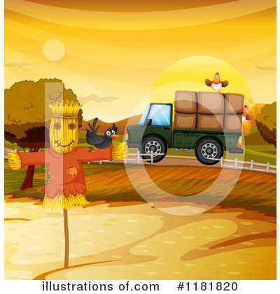 Scarecrow Clipart #1181820 by Graphics RF