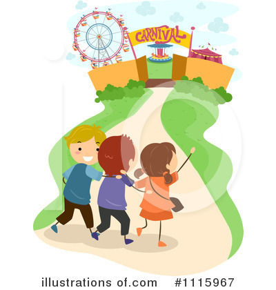 Amusement Park Clipart #1115967 by BNP Design Studio