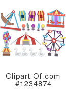 Royalty-Free (RF) Carnival Clipart Illustration #1234874