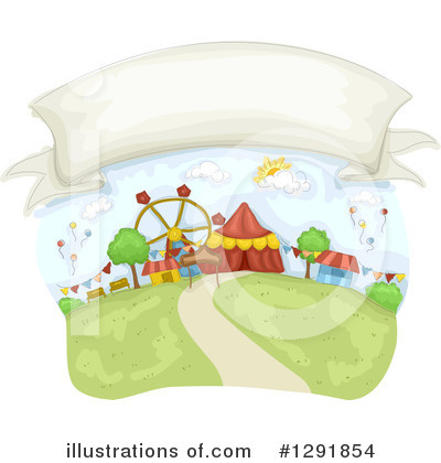 Amusement Park Clipart #1291854 by BNP Design Studio