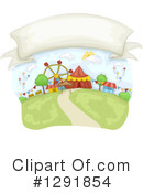 Royalty-Free (RF) Carnival Clipart Illustration #1291854