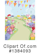 Royalty-Free (RF) Carnival Clipart Illustration #1384093