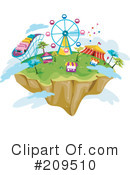 Royalty-Free (RF) Carnival Clipart Illustration #209510