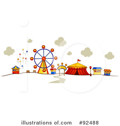 Amusement Park Clipart #92488 by BNP Design Studio