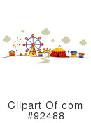 Royalty-Free (RF) carnival Clipart Illustration #92488