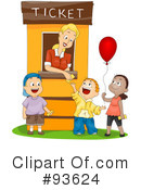 Royalty-Free (RF) Carnival Clipart Illustration #93624