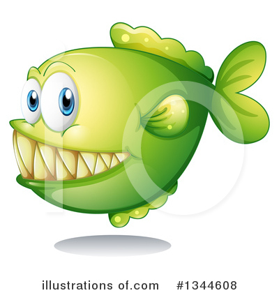 Piranha Clipart #1344608 by Graphics RF