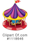 Carousel Clipart #1118646 by Graphics RF