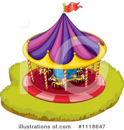 Amusement Park Clipart #1118647 by Graphics RF