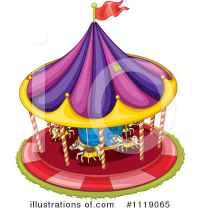 Amusement Park Clipart #1119065 by Graphics RF