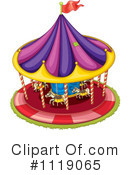 Carousel Clipart #1119065 by Graphics RF