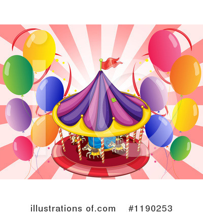 Amusement Park Clipart #1190253 by Graphics RF