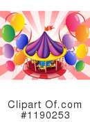 Carousel Clipart #1190253 by Graphics RF