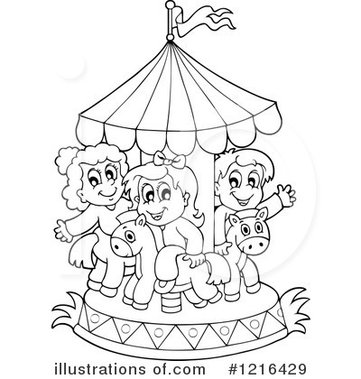 Carousel Clipart #1216429 by visekart