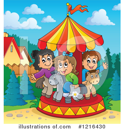 Carousel Clipart #1216430 by visekart