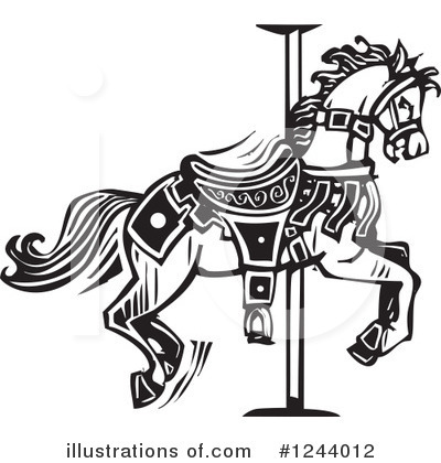 Royalty-Free (RF) Carousel Clipart Illustration by xunantunich - Stock Sample #1244012