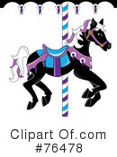 Carousel Horse Clipart #76478 by Pams Clipart