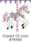 Carousel Horse Clipart #76482 by Pams Clipart
