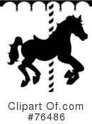 Carousel Horse Clipart #76486 by Pams Clipart