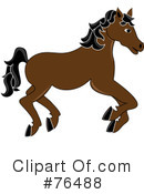 Carousel Horse Clipart #76488 by Pams Clipart