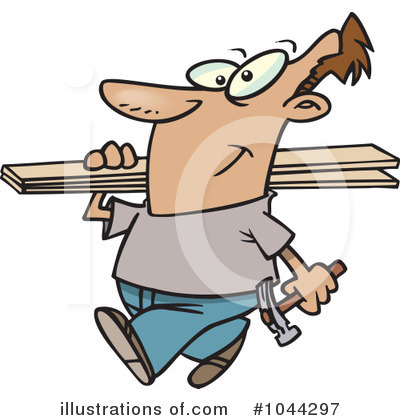 Carpenter Clipart #1044297 by toonaday