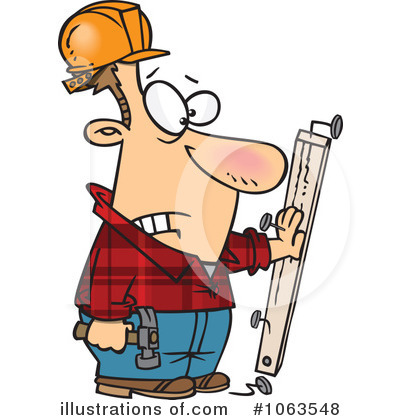 Carpenter Clipart #1063548 by toonaday
