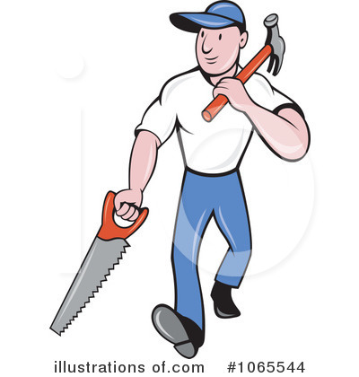 Clip Art Carpenter Clipart carpenter clipart 1065544 illustration by patrimonio royalty free rf patrimonio
