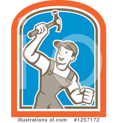 Builder Clipart #1257172 by patrimonio