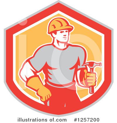 Carpenter Clipart #1257200 by patrimonio