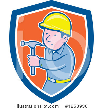 Carpenter Clipart #1258930 by patrimonio