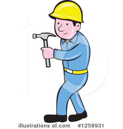 Builder Clipart #1258931 by patrimonio