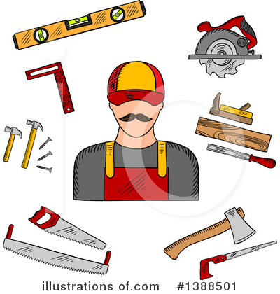 Tool Clipart #1388501 by Vector Tradition SM