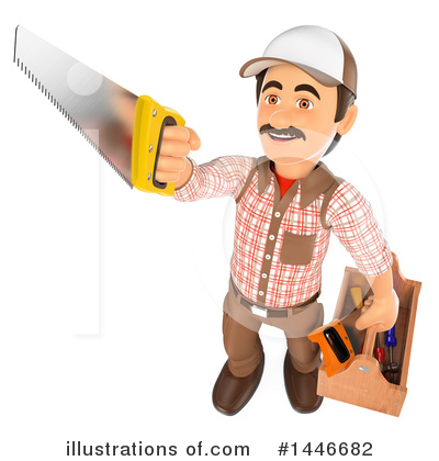 Carpenter Clipart #1446682 by Texelart