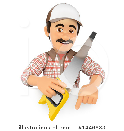 Carpenter Clipart #1446683 by Texelart