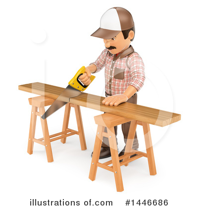 Carpenter Clipart #1446686 by Texelart