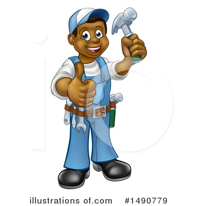Worker Clipart #1490779 by AtStockIllustration