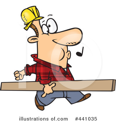 Carpenter Clipart #441035 by toonaday