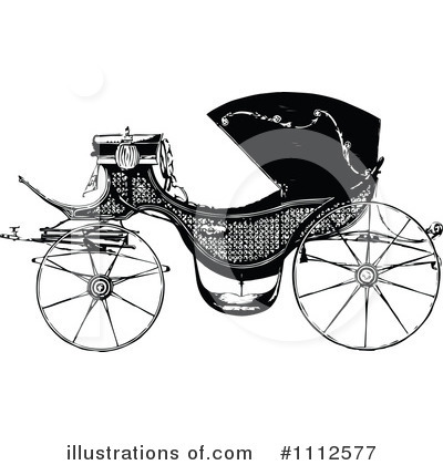 Carriage Clipart #1112577 by Prawny Vintage