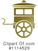 Royalty-Free (RF) Carriage Clipart Illustration #1114529