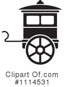 Royalty-Free (RF) Carriage Clipart Illustration #1114531